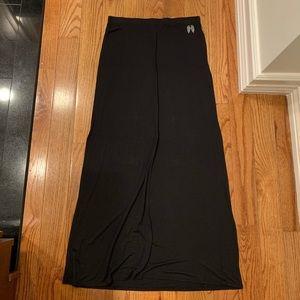 Victoria's Secret Long Black Skirt Swim Cover